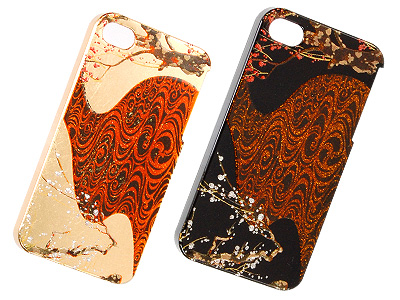 iphone Cover 琳派 紅白梅