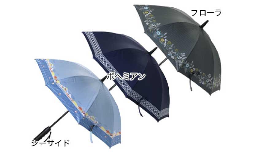 扇風機付き日傘 50cm 商品画像