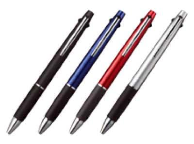 ジェットストリーム3色ボールペン07 メタリック
