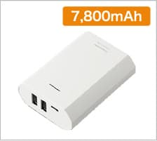 PSE モバイルバッテリー 7800の商品画像